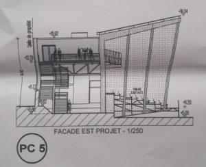 PC5 Façade Est Projet