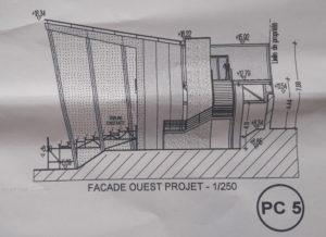 PC5 Façade Ouest Projet